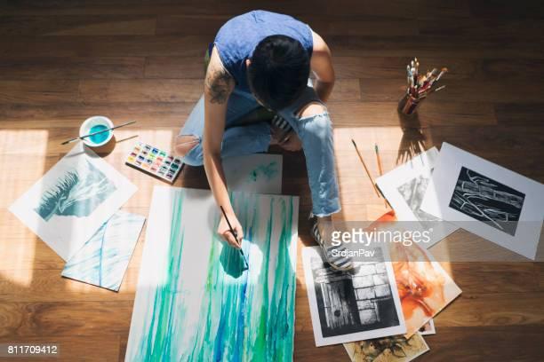 Konstnärliga flöde