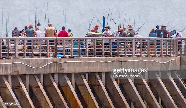 CONTENT] Artistic rendition of fishermen at the Sebastian Inlet State Park in Florida on May 5 2013