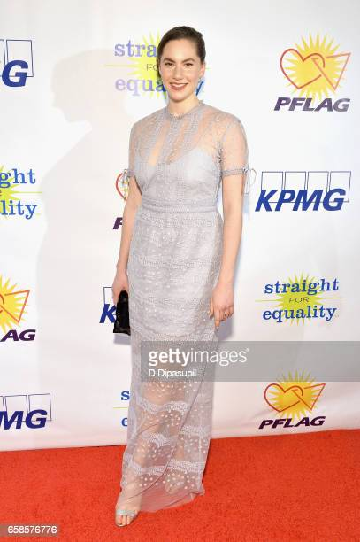 Artist/model Emma Hepburn Ferrer attends the ninth annual PFLAG National Straight for Equality Awards Gala on March 27, 2017 in New York City.