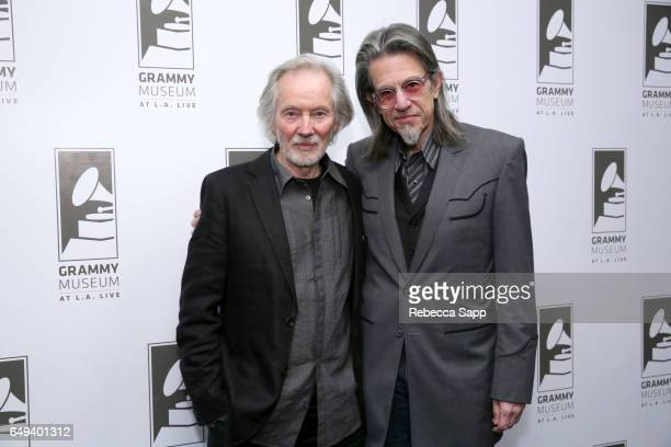Artist/musician Klaus Voormann and Vice President of the GRAMMY Foundation Scott Goldman attend An Evening With Klaus Voormann Celebrating the 50th...