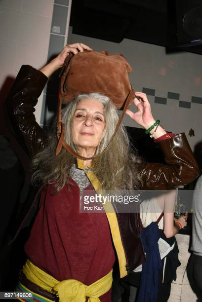 Artist/performer Sophie Boursat attends the 'Le Temps Retrouve' Party 2 At Les Bains In Paris on December 21 2017 in Paris France