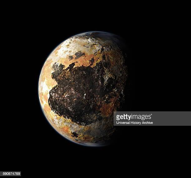 Artist's Concept Pluto's South Pole 2015
