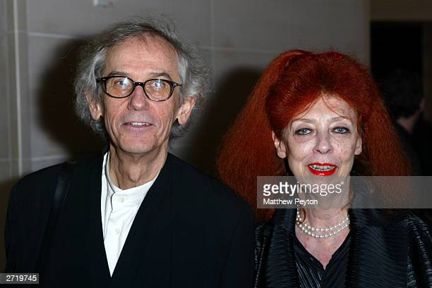 Artists Cristo and Jeanne Claude attend the Americans For The Arts 8th Annual National Arts Awards Gala at the Mandarin Oriental Hotel November 11...