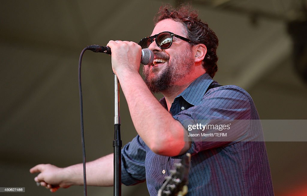 Artists Drive-By Truckers perform during the 2014 Bonnaroo Music & Arts Festival on June 14, 2014 in Manchester, Tennessee.