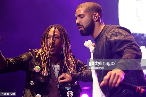 Artists Future and Drake performed at the REAL 923's The Real Show at The Forum on November 8 2015 in Inglewood California