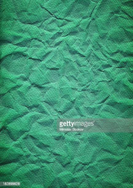 Artist's Hi-Res Turquoise-green Card-stock Watercolor Paper Crushed Vignette Grunge Texture