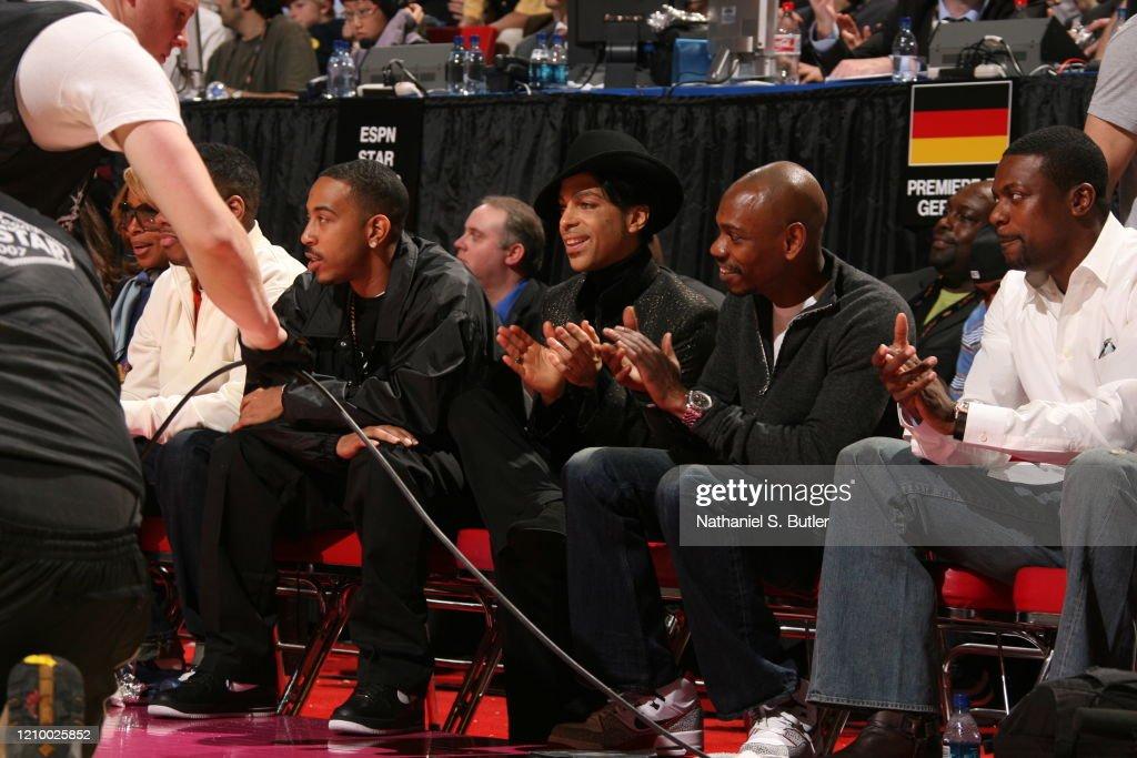 2007 NBA All-Star Game : News Photo