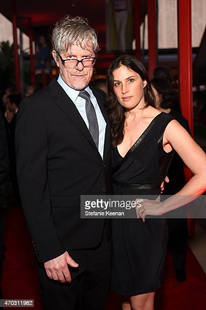 Artists Mark Grotjahn and Jennifer Guidi attend the LACMA 50th Anniversary Gala sponsored by Christie's at LACMA on April 18 2015 in Los Angeles...