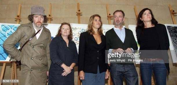 Artists Martin Creed, Rachel Whiteread, Tracey Emin, Gary Hume and Fiona Banner, some of the artists whose pictures that have been unveiled as...