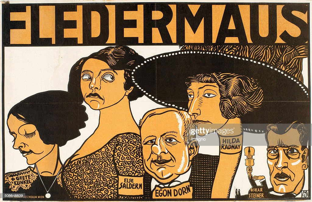 """Fledermaus"" Poster : News Photo"