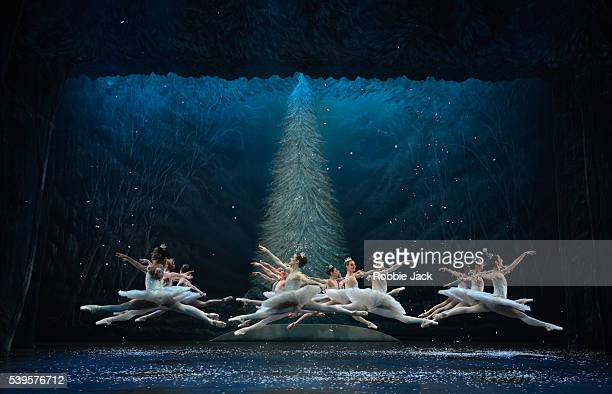 Artists of the company in English National Ballet's production of Wayne Eagling's The Nutcracker at the London Coliseum