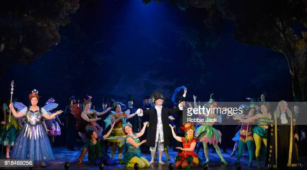 Artists of the company in English National Opera's production of Gilbert and Sullivan's Iolanthe directed by Cal McCrystal and conducted by Timothy...