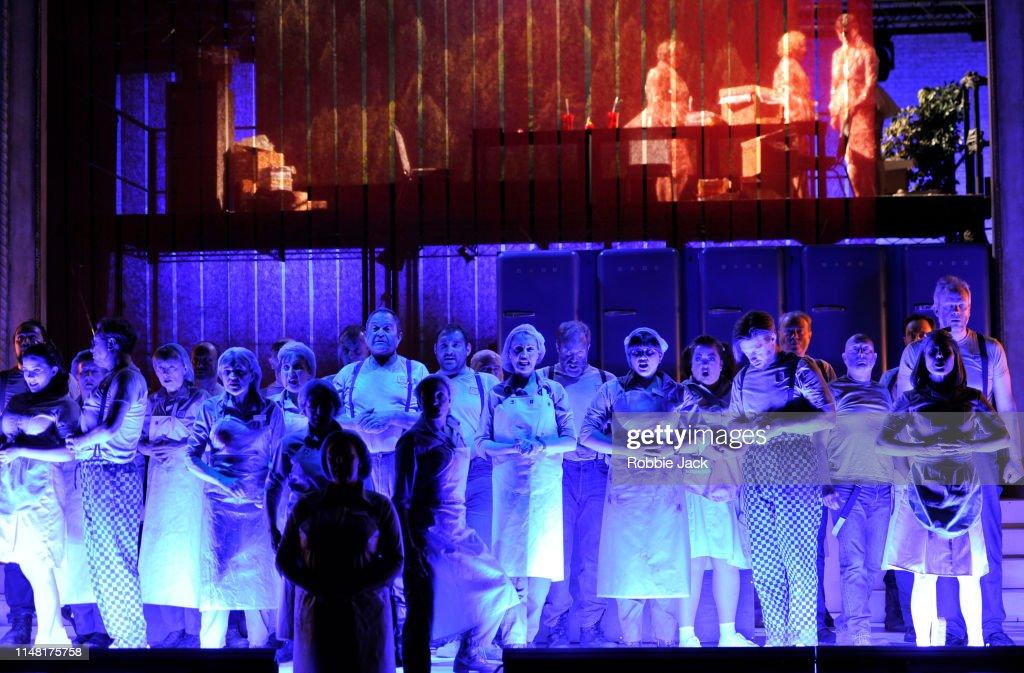 English National Opera Performs Benjamin Britten's Paul : News Photo