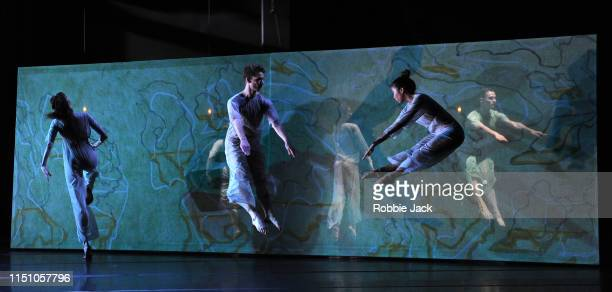 Artists of the company in Four Quartets at The Barbican on May 21 2019 in London England