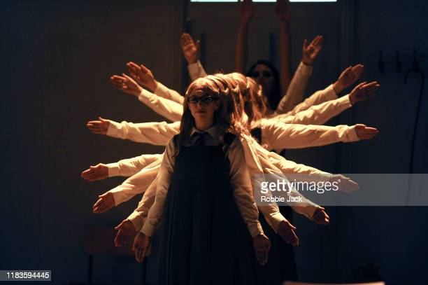Artists of the company in Glyndebourne Opera's production of Handel's Rinaldo directed by Robert Carsen and conducted by David Bates at Glyndebourne...
