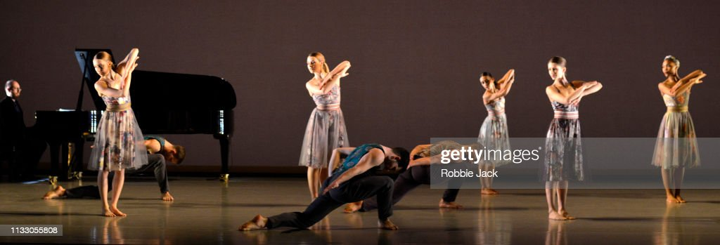 Brahms Hungarian Is Performed By The Richard Alston Dance Company : News Photo