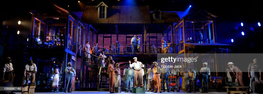 ENOís Production Of George Gershwinís 'Porgy And Bess' At The London Coliseum : News Photo