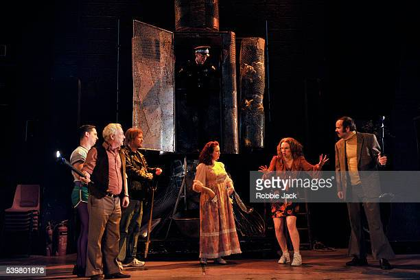 Artists of the company in the National Theatre of Scotland's production of Greg Hemphill and Donald McLeary's Appointment With The Wicker Man...