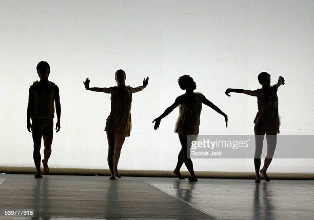 Artists of the company in the Random Dance production 'Amu' at Sadler's Wells