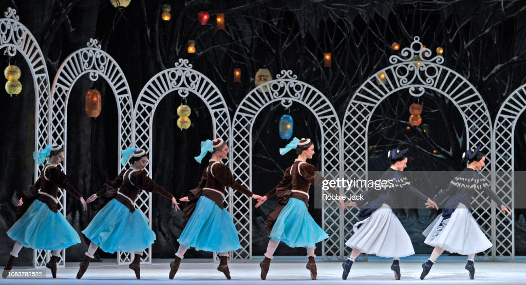 "Frederick Ashton's ""Les Patineurs"" At The Royal Opera House London : News Photo"