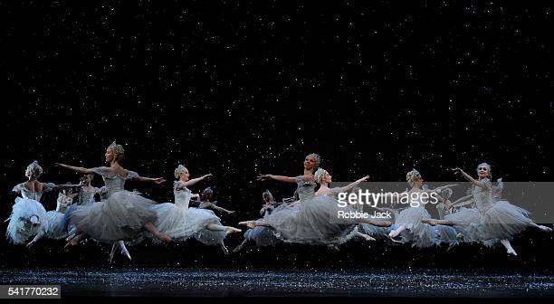 Artists of the company in the Royal Ballet's production of Peter Wright's The Nutcracker at the Royal Opera House Covent Garden in London