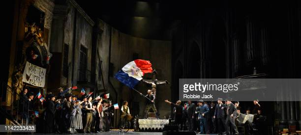 Artists of the company in The Royal Opera's production of CharlesFrancois Gounod's Faust directed by David McVicar and conducted by Dan Ettinger at...