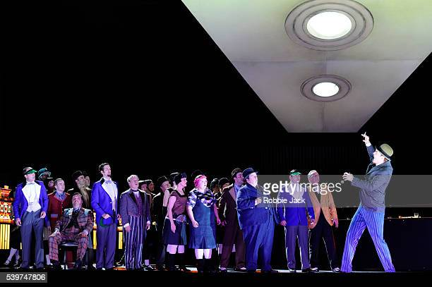 """Artists of the company in the Royal Opera's production of Sergey Prokofiev's """"The Gambler"""" directed by Richard Jones and conducted by Antonio Pappano..."""