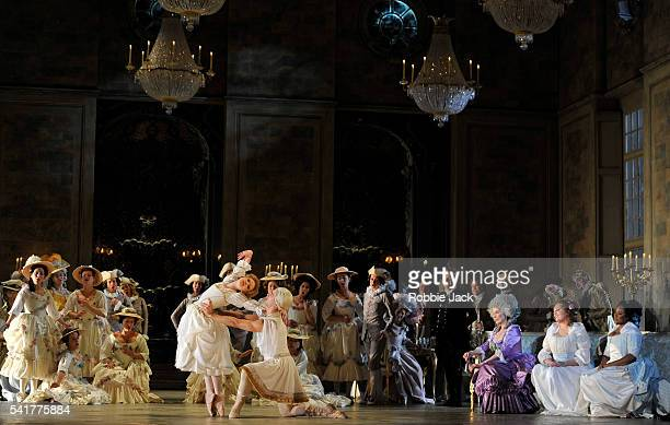 Artists of the company in the Royal Opera's production of Umberto Giordano's Andrea Chenier directed by David McVicar and conducted by Antonio...