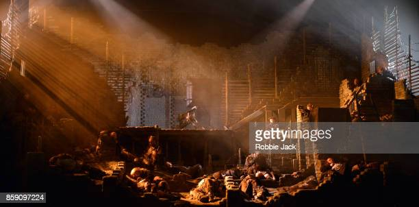 Artists of the company in Welsh National Opera's production of Leos Janacek's From the House of the Dead directed by David Pountney and conducted by...