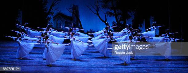 """Artists of the company perform in the State Ballet of Georgia's production of """"Giselle"""" at the Edinburgh Playhouse."""