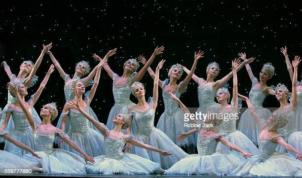 Artists of the Royal Ballet in the production The Nutcracker at the Royal Opera House Covent Garden London