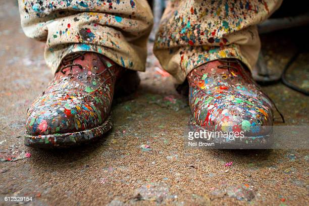 Artists' Painting Shoes
