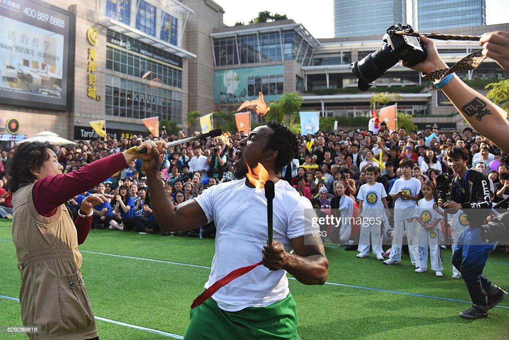 2016 Shenzhen Fringe Festival : Nachrichtenfoto