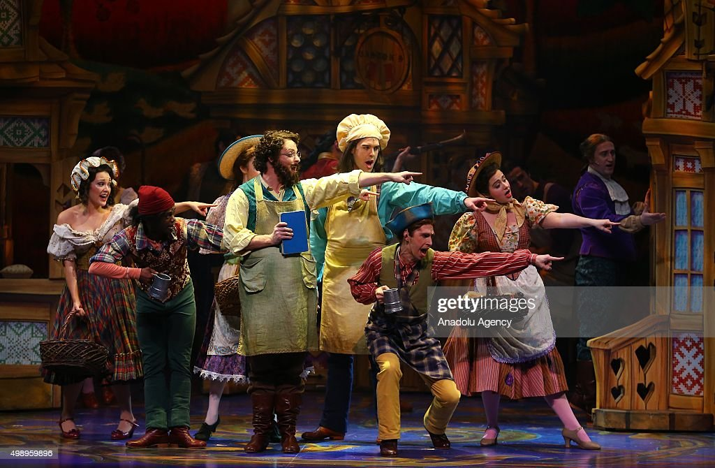 Disney's Beauty and the Beast performs in Ankara : News Photo