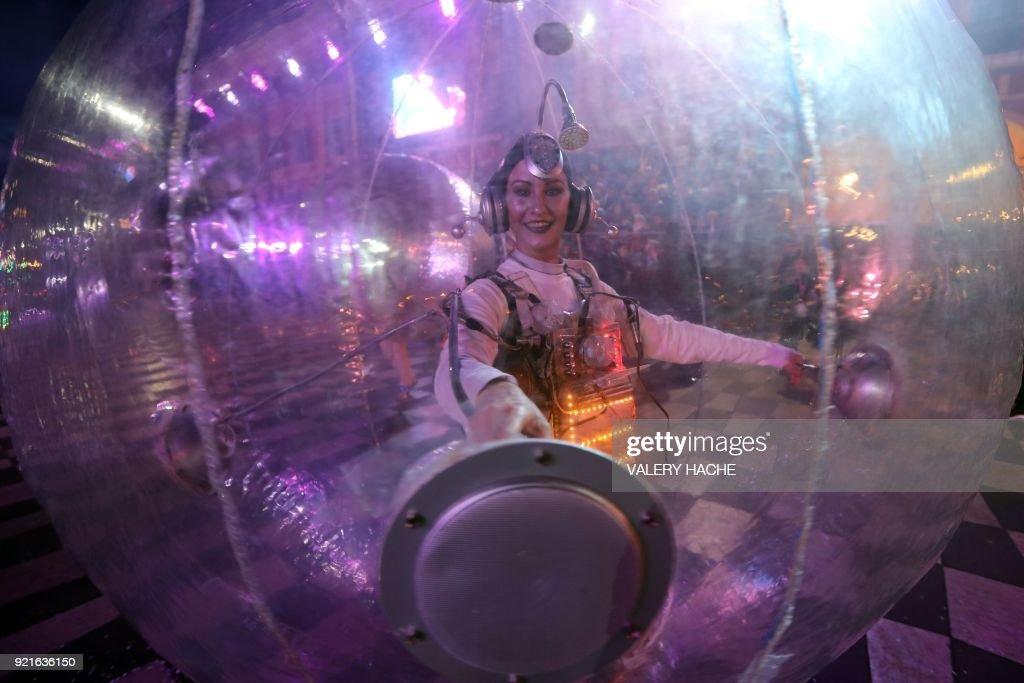 FRANCE-CARNIVAL-FESTIVAL-NICE : Foto di attualità
