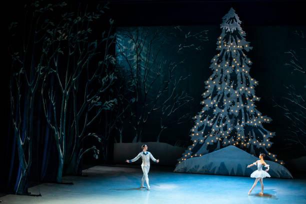 "CZE: Czech National Ballet Performs ""The Nutcracker"" For Livestreaming"