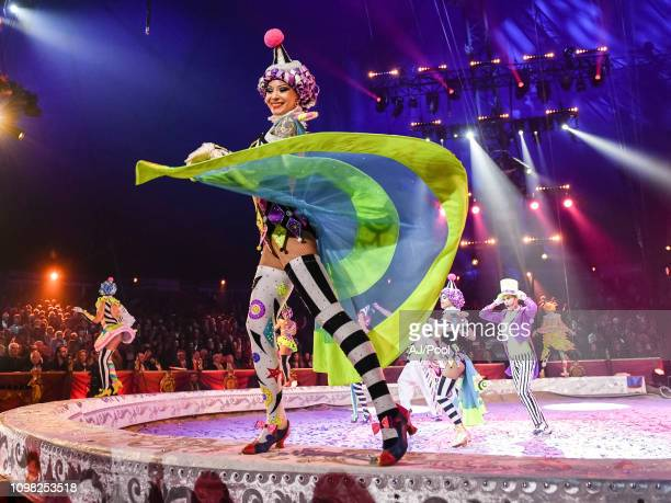 Artists Performs during the 43rd International Circus Festival of MonteCarlo on January 22 2019 in Monaco Monaco
