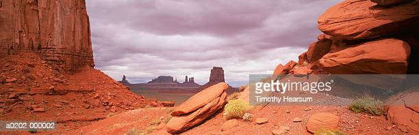 artist's point rock formations - timothy hearsum imagens e fotografias de stock