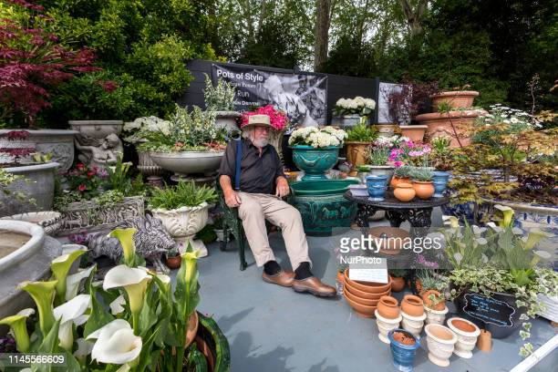 Artists present their work at the RHS Chelsea Flower Show opens in London, England on May 22, 2019.