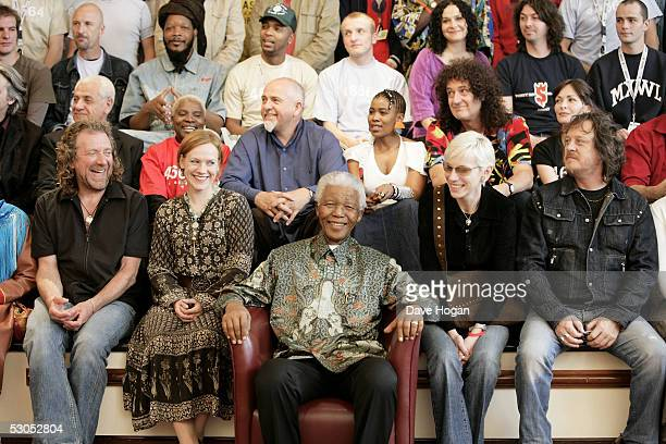 46664 artists Robert Plant Anneli Drecker Annie Lennox and Zucchero and Jivan Gasparyan Angelique Kidjo Peter Gabriel Thandiswa Mazwai Brian May and...