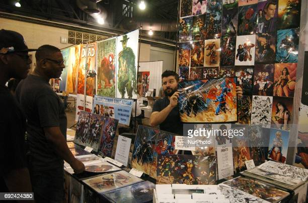 Artists talk about their work with fans during Wizard World Philadelphia on June 4 2017