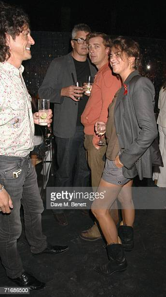 ArtistTracey Emin and Jay Joplin attend the Rolling Stones after show party atRonnie Woods Home on August 20 in Kingston England