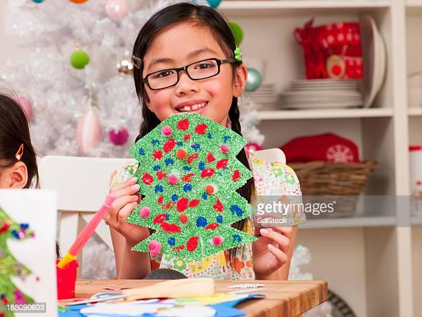 Kunst und Handwerk in Weihnachten