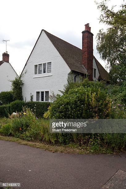 Arts and Crafts period houses in Letchworth the world's first Garden City designed by Ebenezer Howard to marry the best of urban and rural living In...