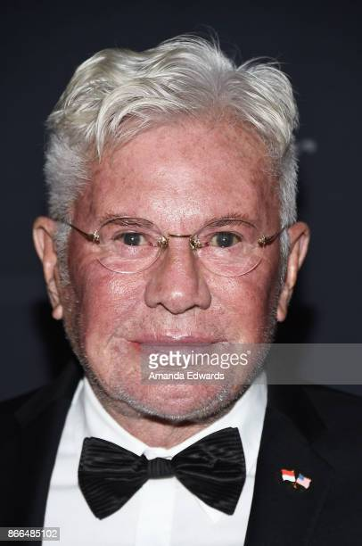 Arts Board Advisory Boardmember Gary L Pudney arrive at the 2017 Princess Grace Awards Gala at The Beverly Hilton Hotel on October 25 2017 in Beverly...
