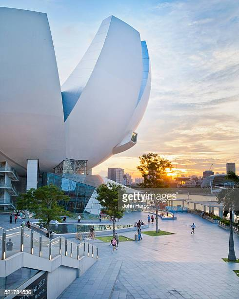ArtScience Museum and promenade, Singapore