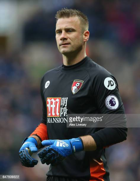 Artur Boruc of AFC Bournemouth during the Premier League match between West Bromwich Albion and AFC Bournemouth at The Hawthorns on February 25 2017...
