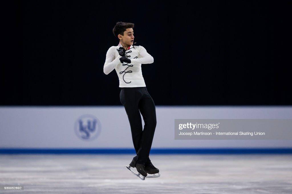 World Junior Figure Skating Championships - Sofia : News Photo