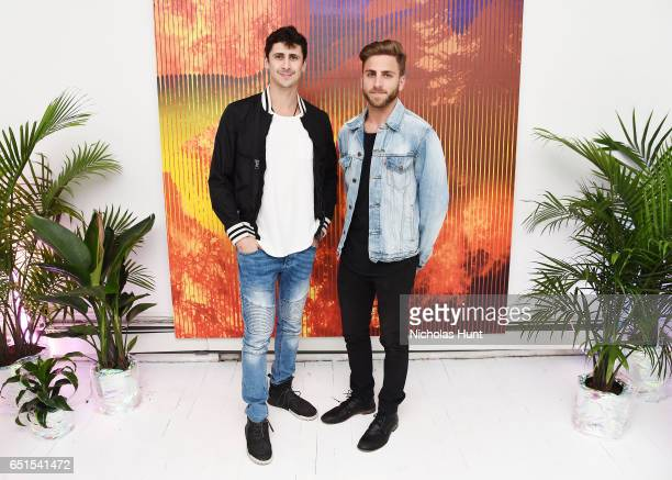 Artur Fruman and Harris Markowitz attends the MTV REDEFINE 2017 Parivate Preview And Auction Launch at Great Jones Studio on March 9 2017 in New York...