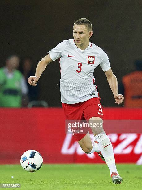 Artur Jedrzejczyk of Poland during the International friendly match between Poland and Netherlands on June 1 2016 at the Gdansk Arena in Gdansk Poland
